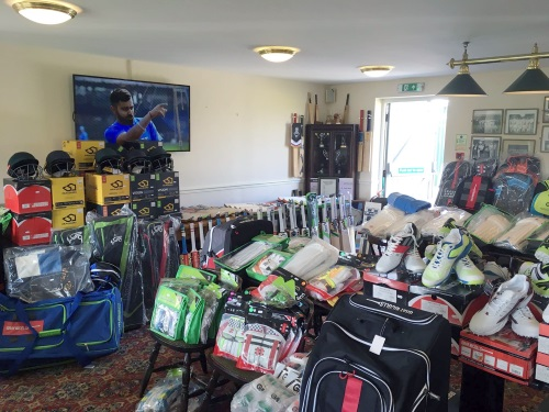 Clean Hit Cricket Pop Up Shop - Burton on Trent