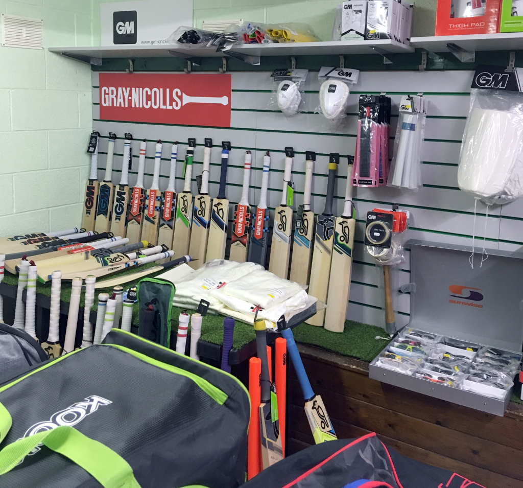Clean Hit Cricket Shop Burton on Trent and Derby Cricket Bats View
