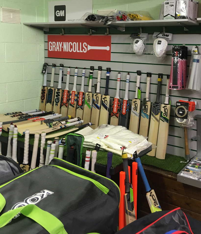 Shop Gallery Clean Hit Cricket Shop Burton on Trent and Derby Cricket Bats View