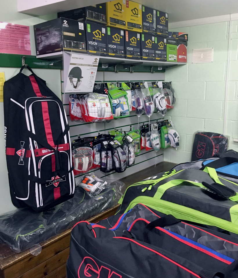 Shop Gallery Clean Hit Cricket Shop Burton on Trent and Derby Inside Equipment Bags View