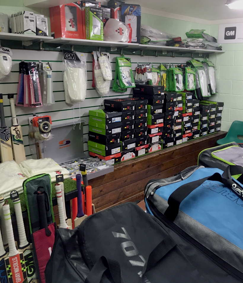 Shop Gallery Clean Hit Cricket Shop Burton on Trent and Derby Inside Equipment View 3